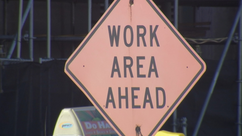 Road Construction Generic Road Work Ahead Sign