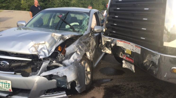 Rochester NH Crash