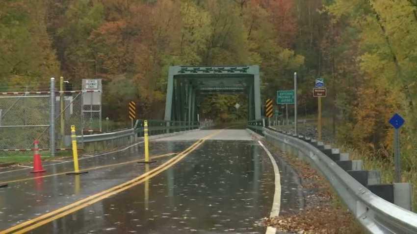 Rural Vermont Quebec Link bridge