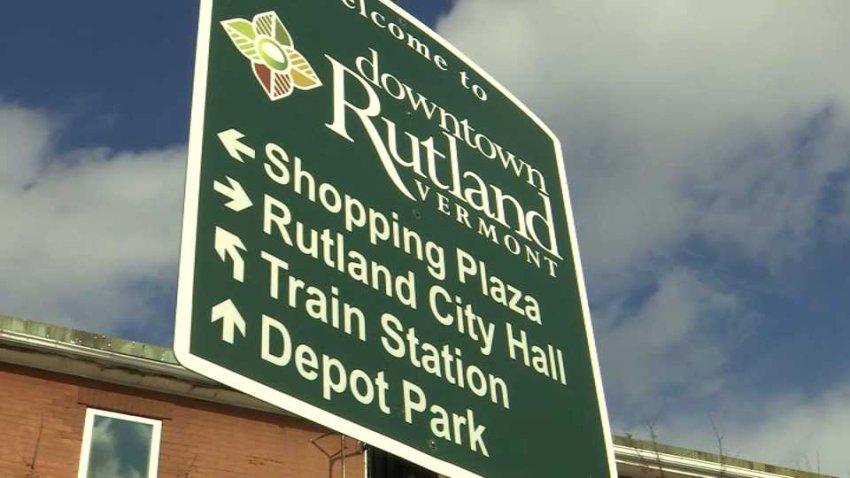 Rutland Vermont sign