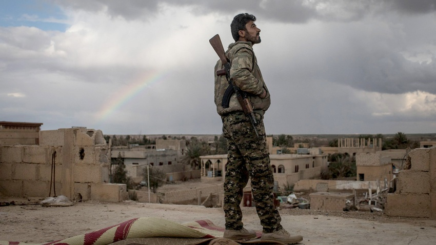 SDF Fighters Battle Last Pockets Of ISIL Resistance In Syria