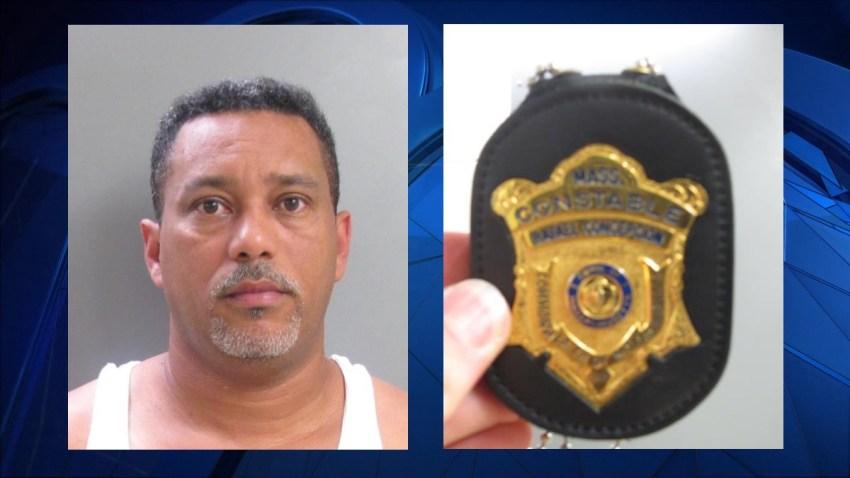 Salem NH drug deal badge Babies R Us parking lot