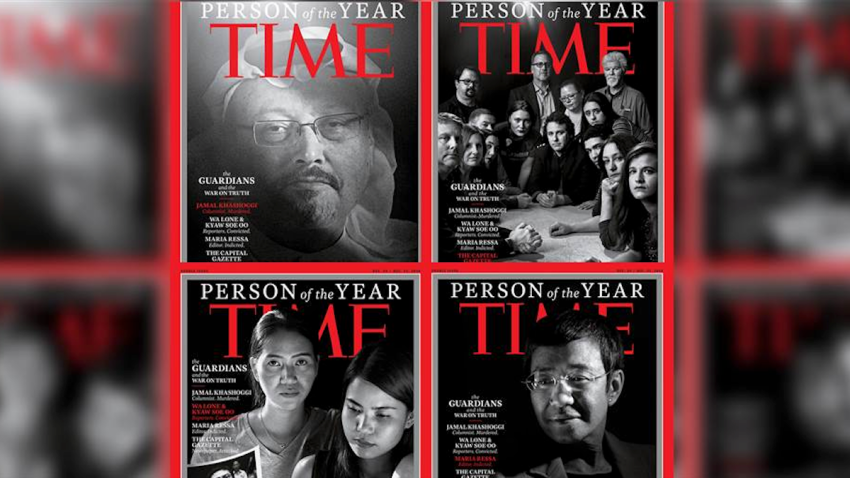 2018 Time Person of the Years Covers