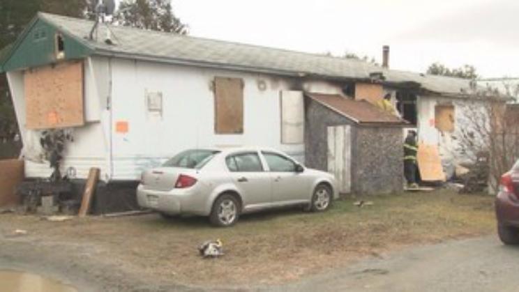 Skowhegan Maine Mobile Home Fire