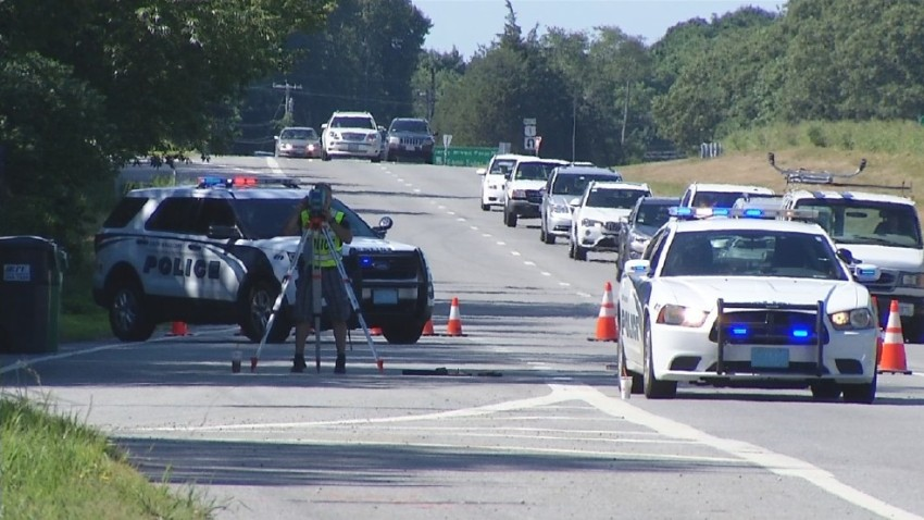 South Kingstown Bicyclist Critical