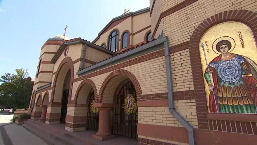 St. George Greek Orthodox Church vandalism