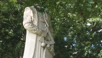 Columbus Statue Decapitated in Waterbury, Conn. Amid Protests