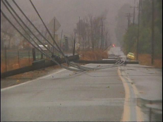 Storm Escondido Power Line