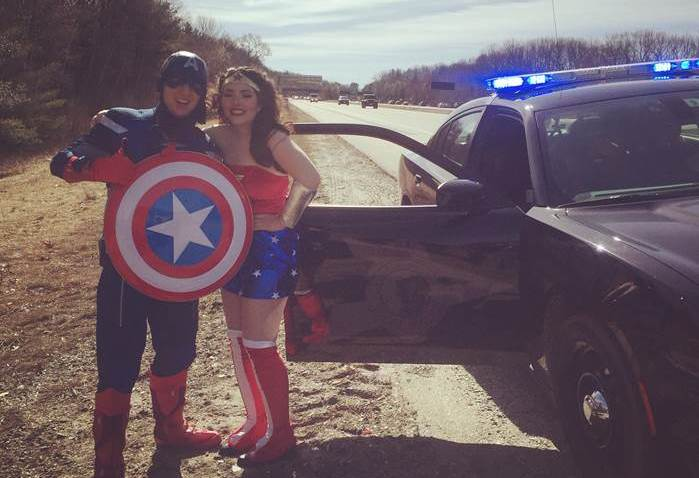 Superheroes NH state police