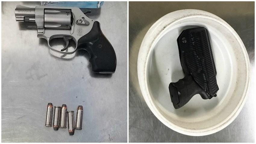 TSA Logan Airport Confiscated Guns 10/2019