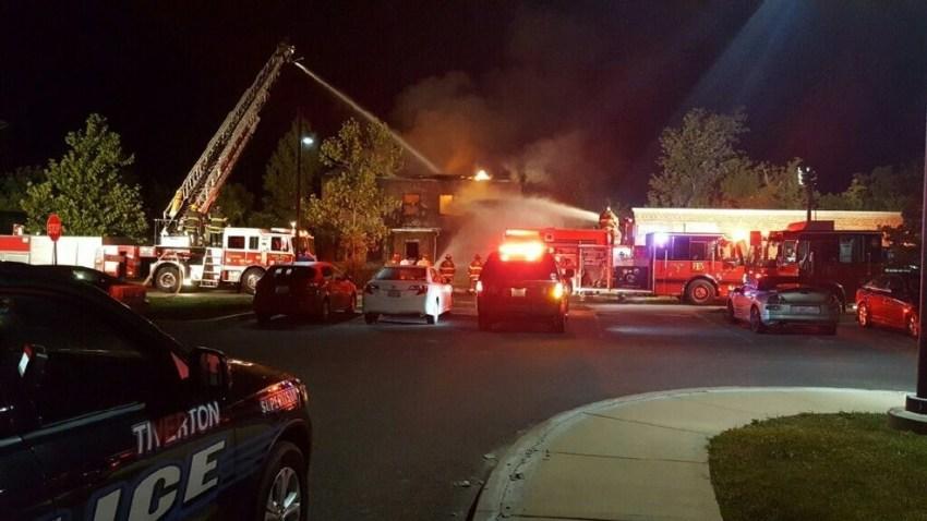 Tiverton RI Fire Aug 29