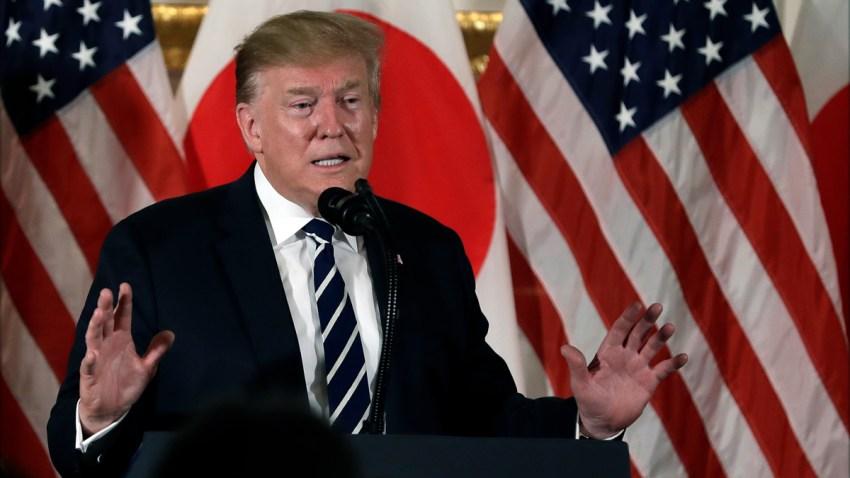APTOPIX Trump Japan