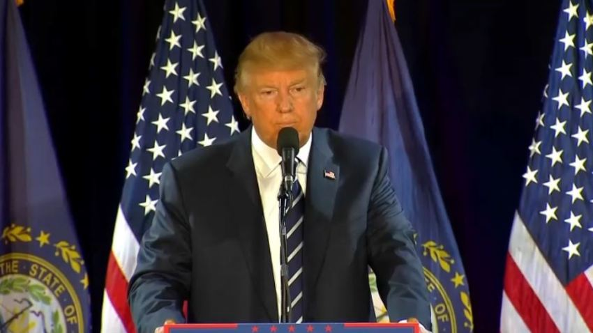 Trump in NH 10-28