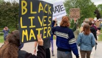 In Demonstration and March, Vt. Youth Call for Racial Justice