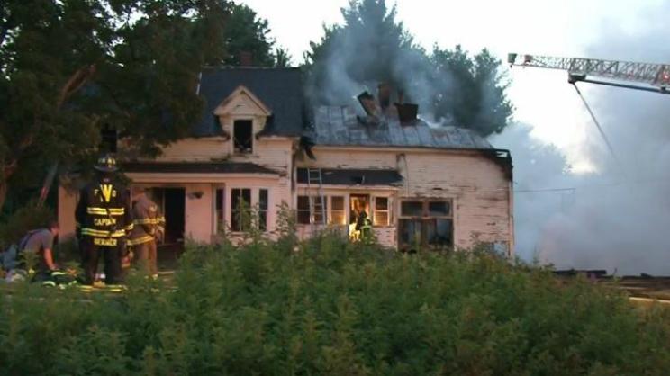 Waterboro Maine Fire
