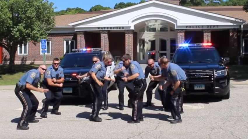 Waterford Police lip synch challenge 2