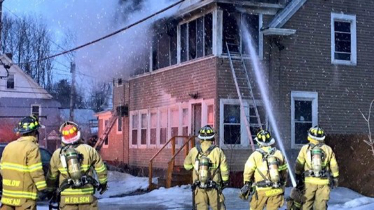 Waterville Maine Fire