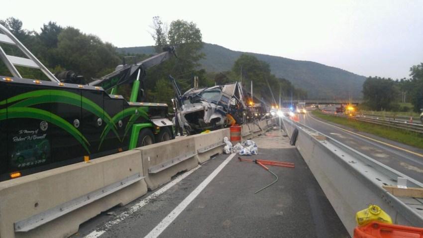 West Stockbridge TT Crash