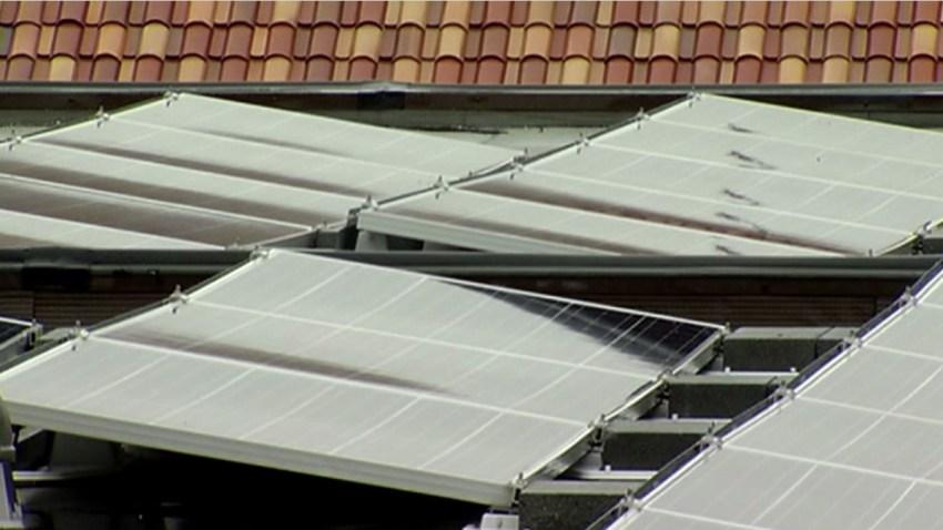 Wilson Building Solar Panels