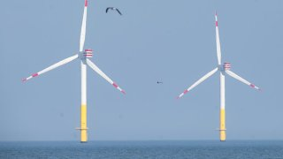 File photo of an offshore wind farm.