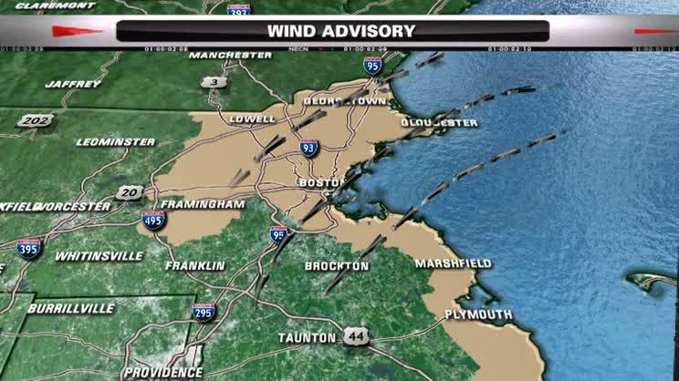 Wind advisory NECN wx 102214