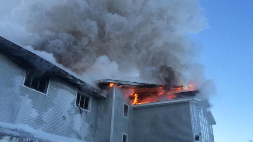 Windsor ski lodge fire