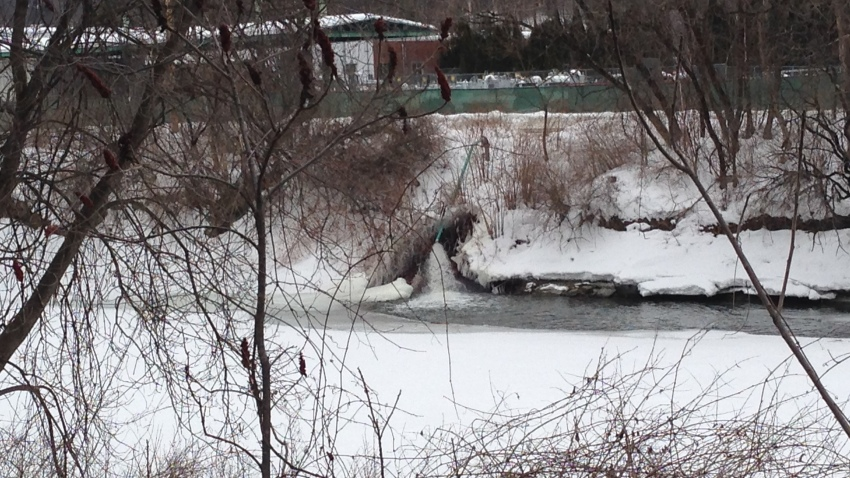 Winooski River Vermont Ice Jams
