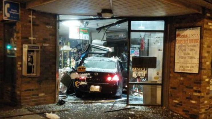 Worcester Liquor Store Crash