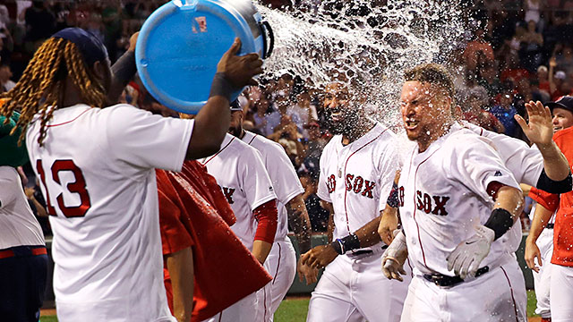 [CSNPhily] Best of MLB: Christian Vazquez walk-off HR caps wild Red Sox win