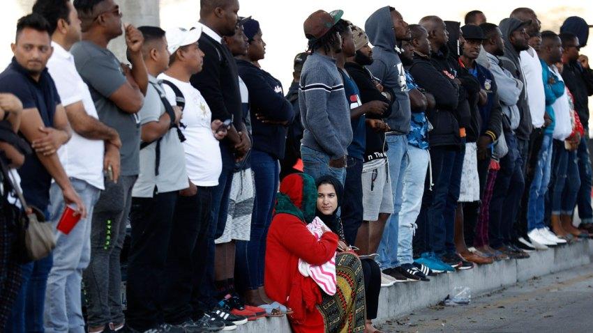 APTOPIX Immigration Asylum