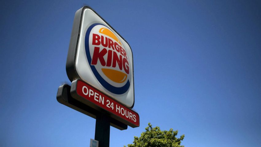 burger king sign getty