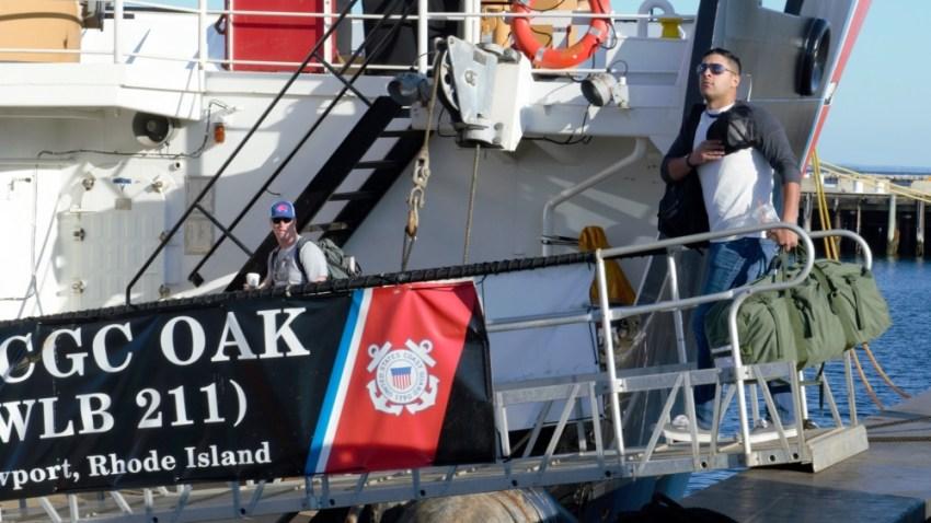 Coast Guard Member Prepares to Deploy For Hurricane Irma Recovery