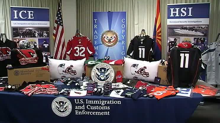 Spot Counterfeit NFL Merchandise – NECN