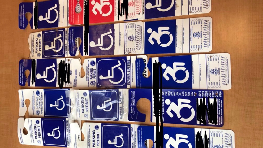 disabled parking cards Hartford