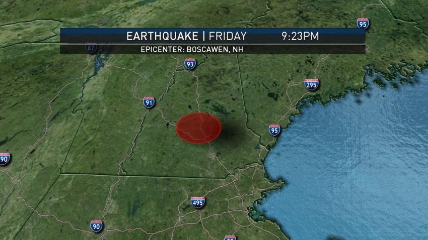 earthquake in NH