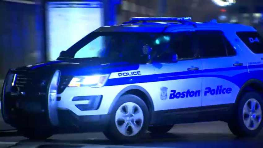 generic boston police department bpd cruiser pic