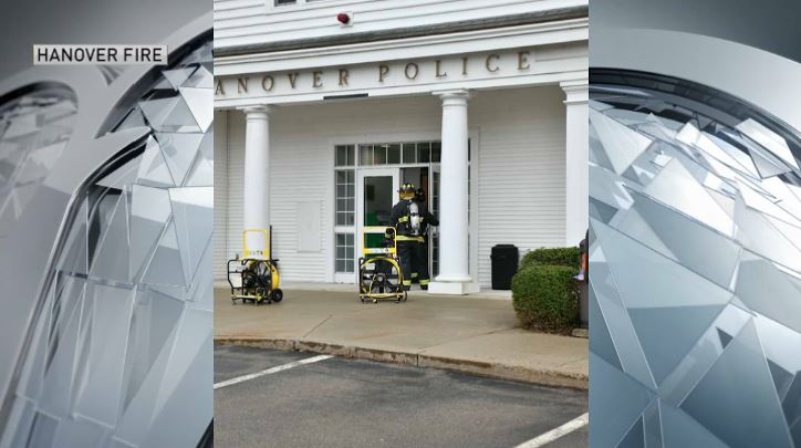 hanover fire responds to police station