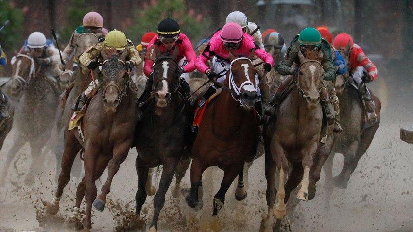 APTOPIX Kentucky Derby Horse Racing