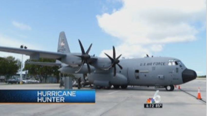 hurricane hunter