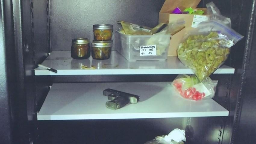illegal dispensary seizure guns cocaine