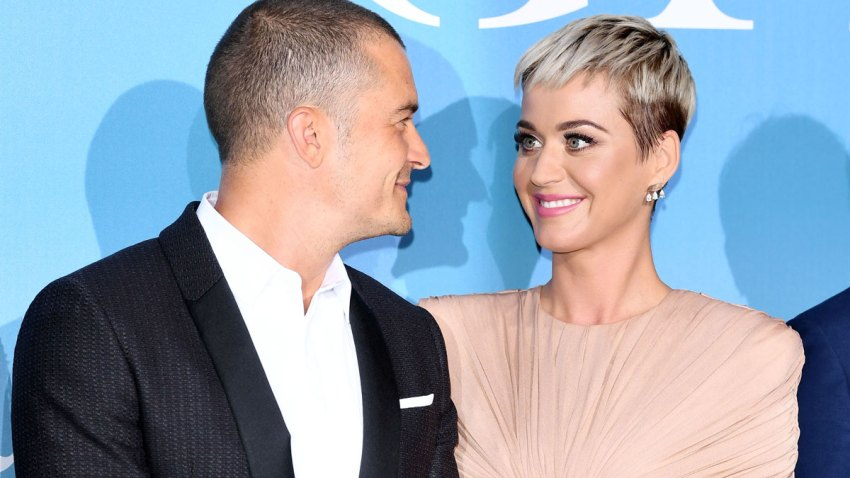 In this file photo, Orlando Bloom and Katy Perry attend the Gala for the Global Ocean hosted by H.S.H. Prince Albert II of Monaco at Opera of Monte-Carlo on September 26, 2018 in Monte-Carlo, Monaco.