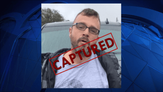Fugitive Kevin Paul was captured in Texas on Wednesday