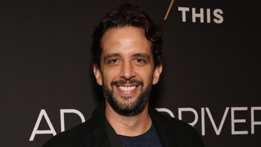 "In this April 15, 2019, file photo, Nick Cordero attends the Broadway Opening Night Arrivals for ""Burn This"" at the Hudson Theatre in New York City."