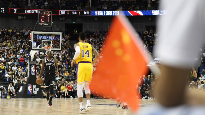China Nationalism Beats NBA