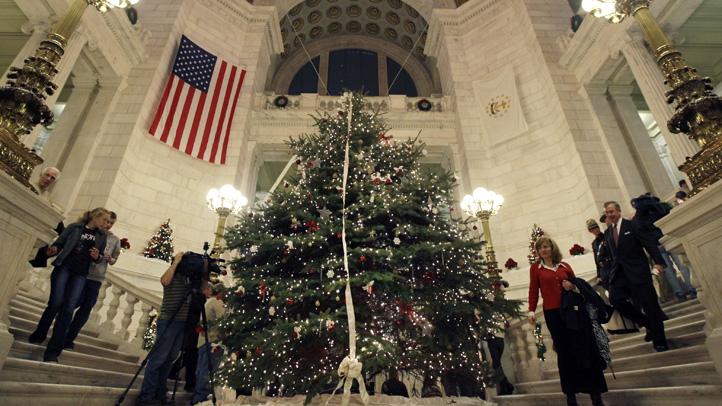 Holiday Tree Flap