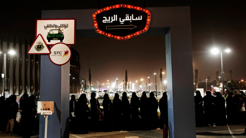 Saudi Women Working as Drivers