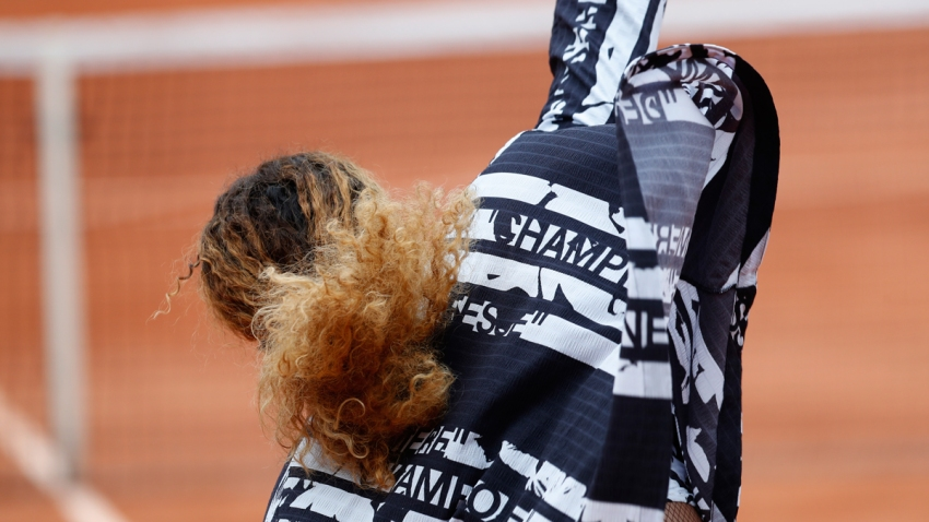 France Tennis French Open Serena Williams Jacket