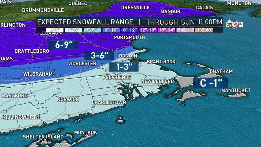 snow totals for jan 19 PM unedited