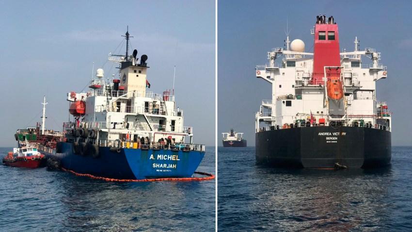 tankers-off-UAE-damage