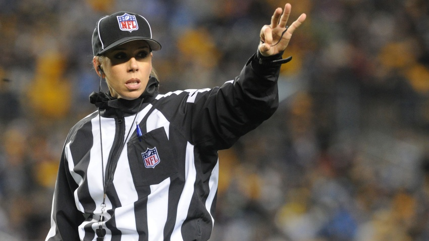 [NBC Sports] Sarah Thomas will be first woman to officiate NFL playoff game in Patriots-Chargers